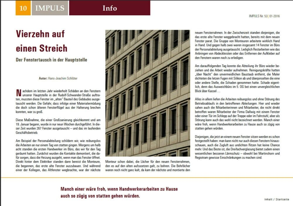 MitarbeiterzeitungKSBank 1